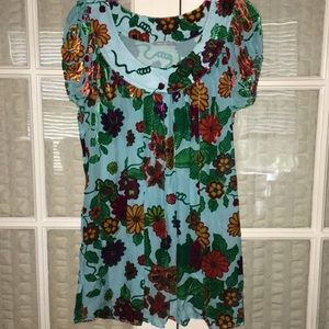 Nally & Millie dress/top size small